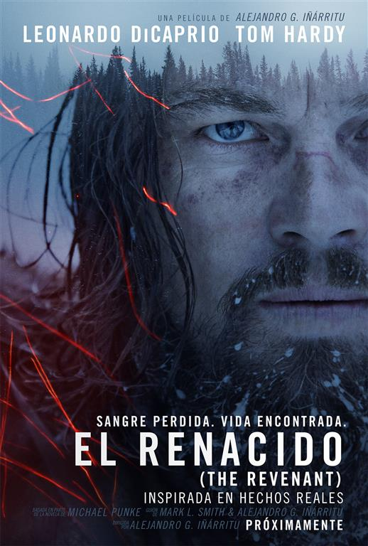 El renacido The revenant Leonardo Di Caprio
