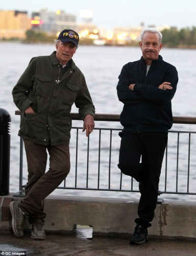 Clint Eastwood Tom Hanks Sully 5