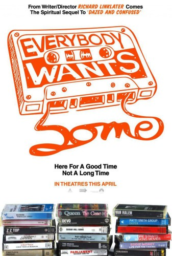 Everybody wants some póster