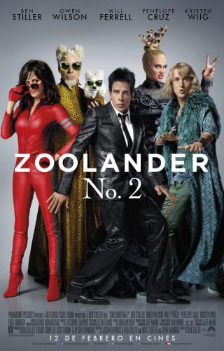 Zoolander 2 póster