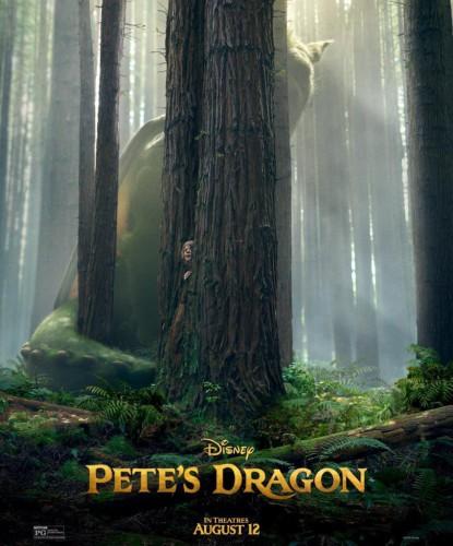 Peter y el dragón póster