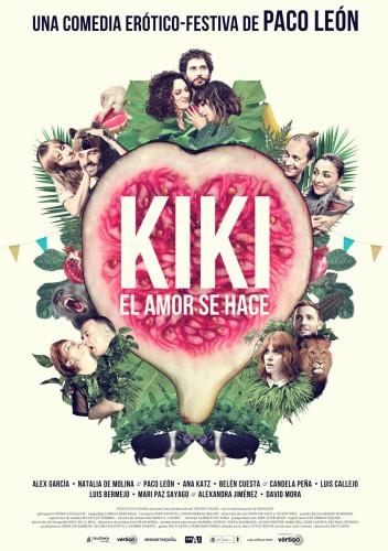 Kiki el amor se hace póster