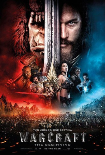Warcraft el origen poster