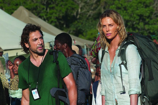 Javier Bardem Charlize Theron The last face