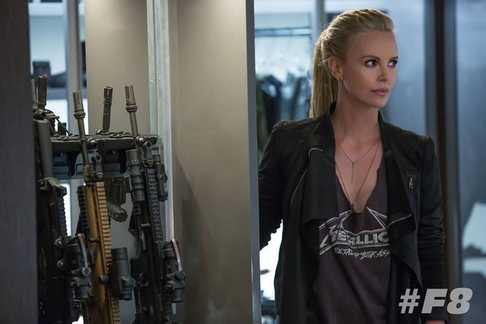 Charlize Theron Fast and furious 8 Cipher