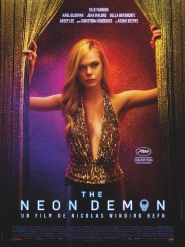 The neon demon póster