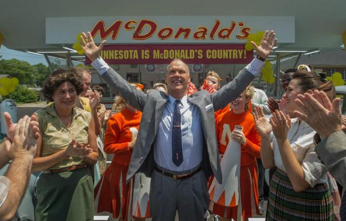 El fundador Michael Keaton McDonalds