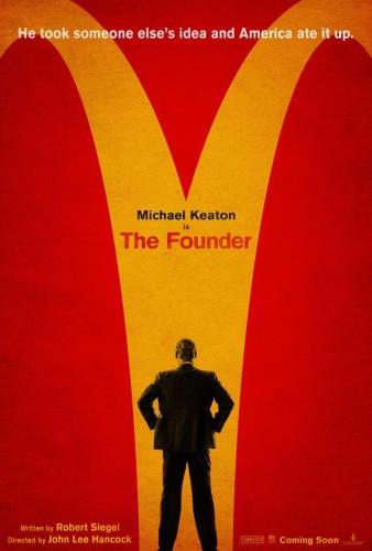 El fundador póster