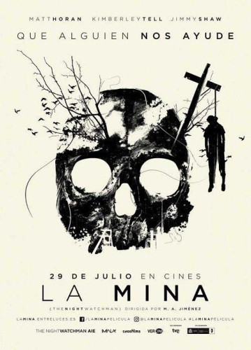 La mina póster