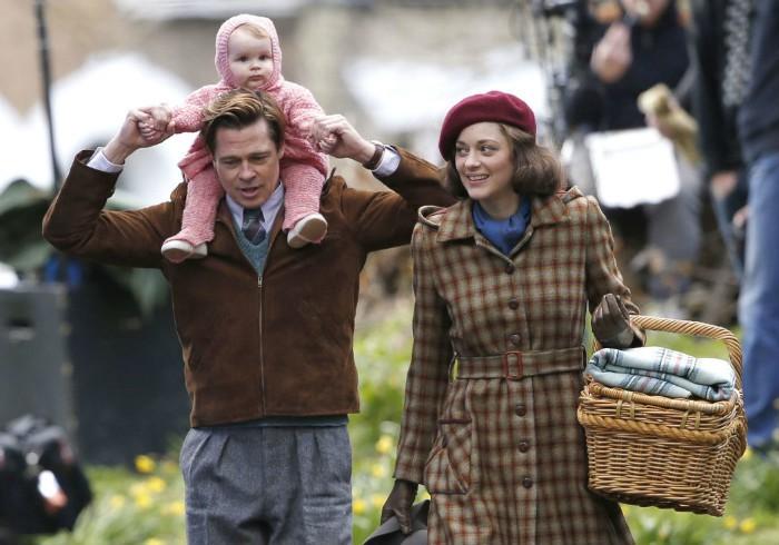 Aliados Brad Pitt Marion Cotillard