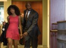 Anna (JAZ SINCLAIR) shows up at John's (MORRIS CHESTNUT) office with champagne and makes a scene in Screen Gems' WHEN THE BOUGH BREAKS.