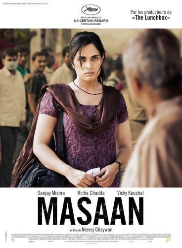 Masaan póster