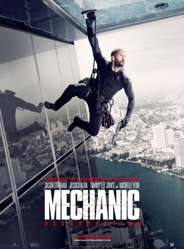 Mechanic resurrection póster