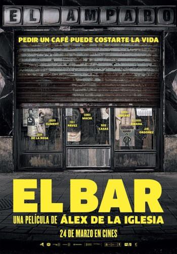 El bar Álex de la Iglesia póster cartel