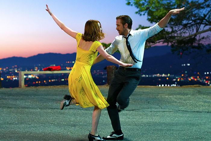 Emma Stone Ryan Gosling La ciudad de las estrellas
