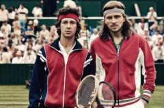 Shia LaBeouf es John McEnroe en Borg/McEnroe, la pelicula sobre uno de los partidos de tenis más míticos
