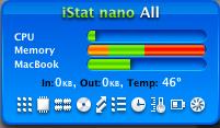 iStat nano, un widget imprescindible