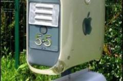 Un buzón con tu Apple