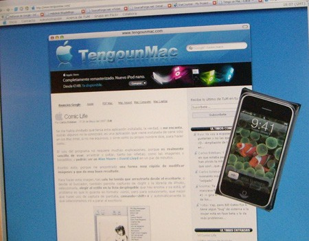 iPhone y TUM