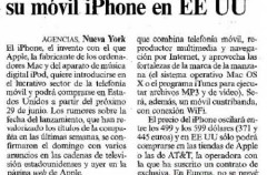 El iPhone con ¿Telefónica?