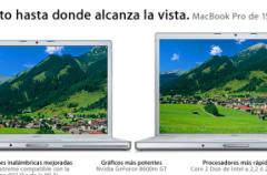 Nuevos Mac Book Pro: Hasta donde alcanza la vista…