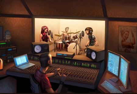 estudio de rock macquero