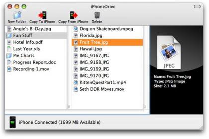iPhonedrive