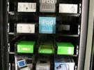 Máquinas expendedoras de iPods