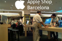 La Apple Shop de Barcelona abierta