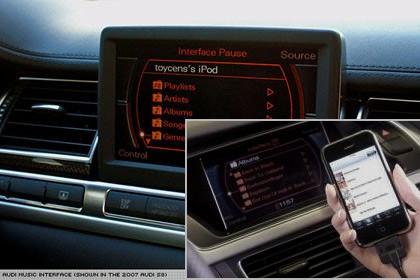 Audi iphone