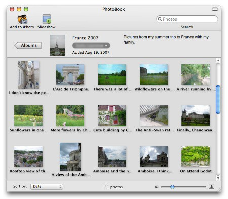 Comparte fotos con PhotoBook