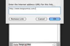 Truco: Añadir URLs en iChat