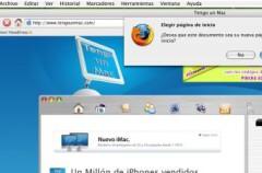 Truco: Cambiar la página de inicio de Firefox