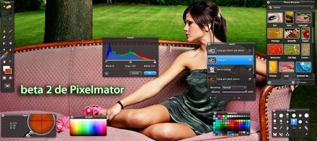 Pixelmator beta 2