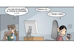 Tira: Miedo al iPhone