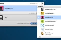 Truco: Controlar iTunes con Quicksilver