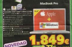 Mac Book Pro con lector de tarjetas