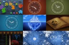 Wallpaper clocks, auténticos relojes como fondo de escritorio