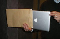 Rueda de prensa: Mac Book Air