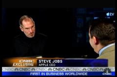 Entrevista de la CNBC a Steve Jobs