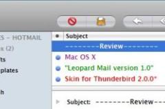 Disfraza a Thunderbird de Mail
