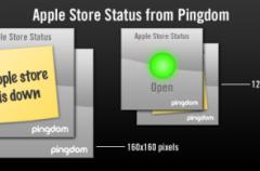 Indica el estado de la Apple Store en tu web
