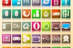Iconos inspirados en CS3