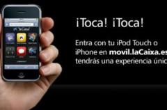 Portal movil para iPhone de La Caixa