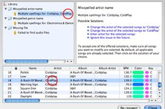 BeaTunes, control sobre los archivos de audio