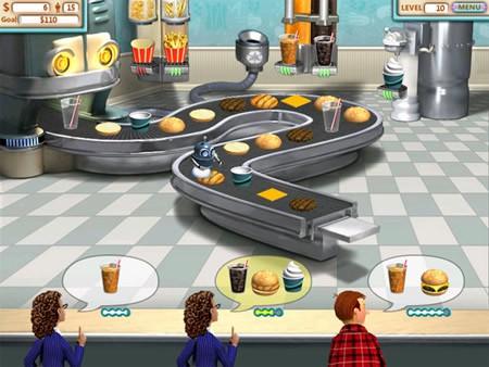 Estresante juego de Venta, Burger Shop