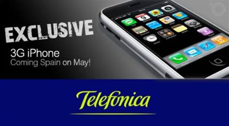 iphone 3g en españa