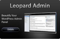 Interface Leopard en WordPres