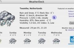 Weatherdock, el clima en tus manos