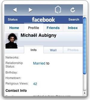 Facebookwidget